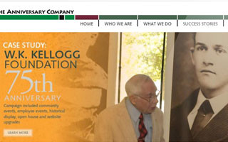The Anniversary Company Website