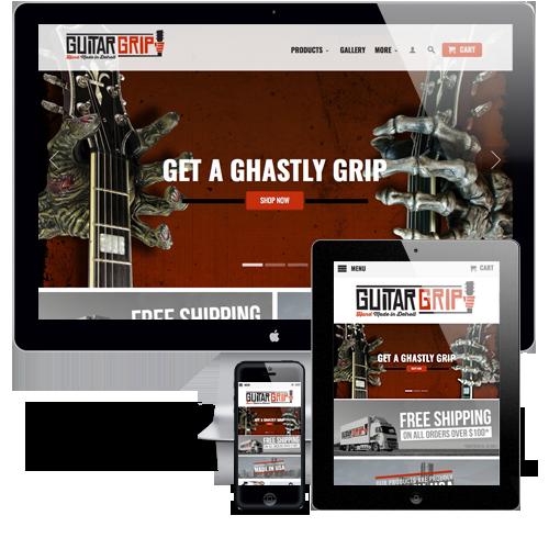 GuitarGrip Website